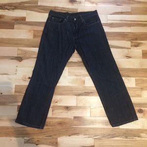 Men's Straight Leg Levi's Jeans